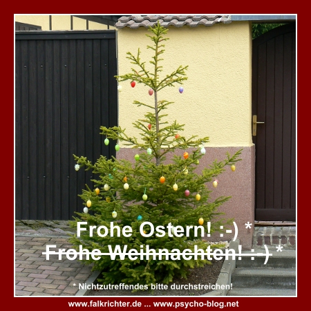Frohe Ostern! :-)